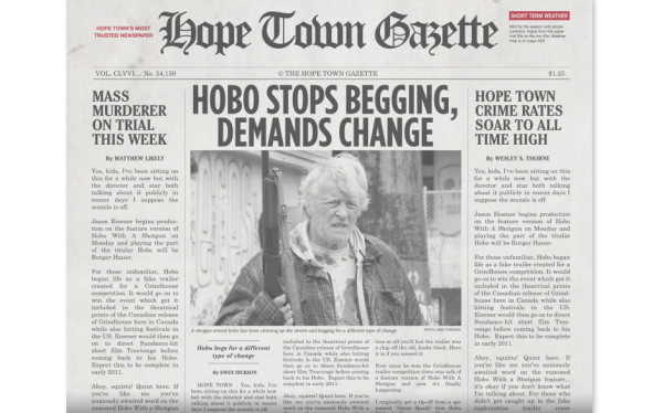 hobo newspaper 2