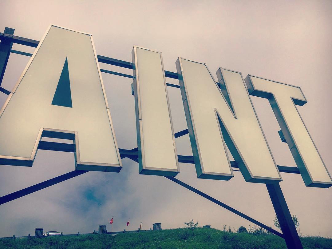 instagram: #aint